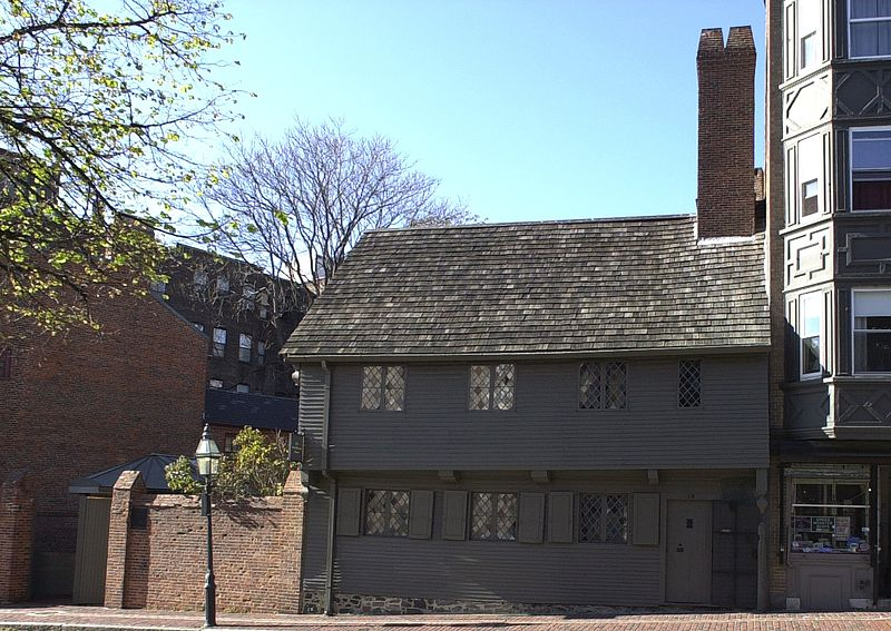 Paul Revere House Boston MA